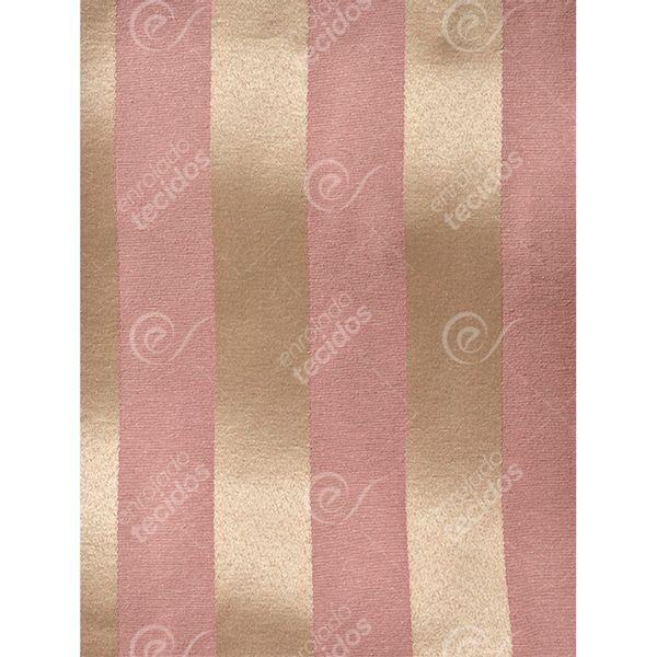 Tecido-Jacquard-Rosa-Envelhecido-e-Dourado-Listrado-Tradicional---280m-de-Largura