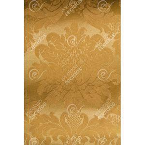 Tecido-Jacquard-Dourado-Ouro-Vibrante-Medalhao-Tradicional---280m-de-Largura
