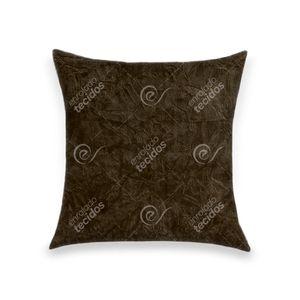 almofada-tecido-suede-amassado-marrom