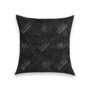 almofada-tecido-suede-amassado-preto