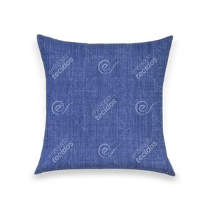 almofada-tecido-jacquard-estampado-liso-azul-marinho
