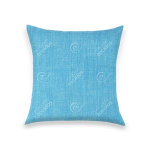 almofada-tecido-jacquard-estampado-liso-azul-turquesa