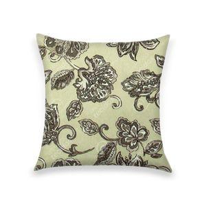 almofada-tecido-jacquard-estampado-floral-cinza