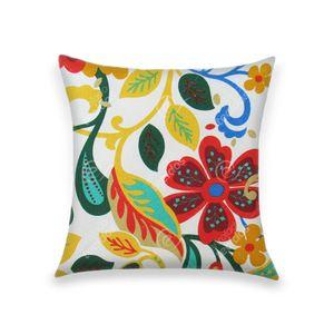 almofada-tecido-jacquard-estampado-azul-amarelo-verde
