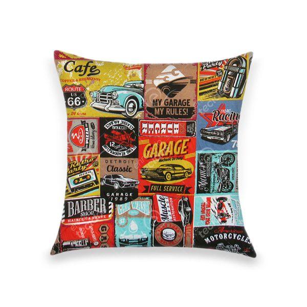 almofada-tecido-jacquard-automotivo-garagem-retro-colorido