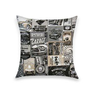 almofada-tecido-jacquard-automotivo-garagem-retro-preto-e-branco