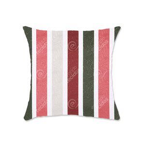 almofada-tecido-jacquard-listrado-rosa-e-verde