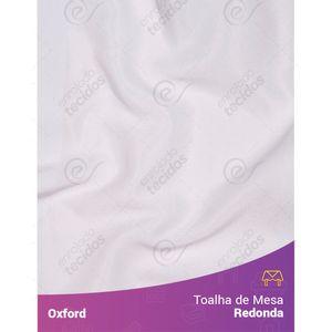 Toalha-de-Mesa-Redonda-para-Buffet-em-Oxford-Branco