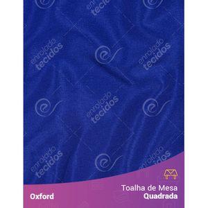 Toalha-de-Mesa-Quadrada-em-Oxford-Azul-Royal