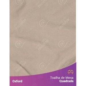 Toalha-de-Mesa-Quadrada-em-Oxford-Bege-Areia