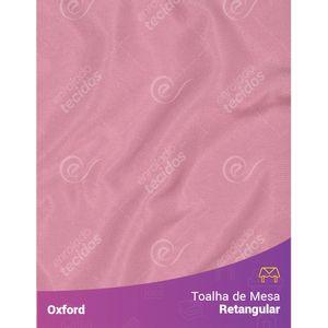 Toalha-de-Mesa-Retangular-em-Oxford-Rosa-Envelhecido-Rose
