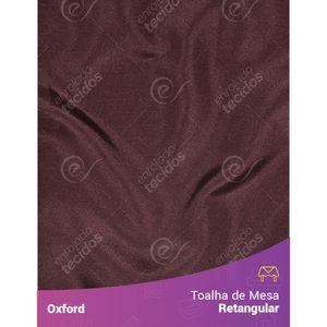 Toalha-de-Mesa-Retangular-em-Oxford-Marrom-Chocolate