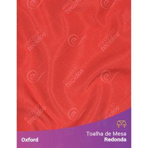 Toalha-de-Mesa-Redonda-para-Buffet-em-Oxford-Vermelho