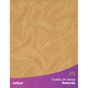 Toalha-de-Mesa-Redonda-para-Buffet-em-Oxford-Dourado