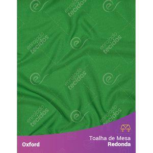 Toalha-de-Mesa-Redonda-para-Buffet-em-Oxford-Verde-Bandeira