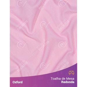 Toalha-de-Mesa-Redonda-para-Buffet-em-Oxford-Rosa-Bebe