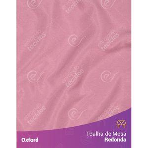 Toalha-de-Mesa-Redonda-para-Buffet-em-Oxford-Rosa-Envelhecido-Rose