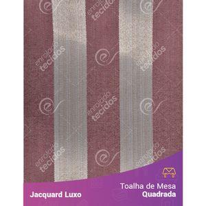 Toalha-de-Mesa-Quadrada-em-Tecido-Jacquard-Vinho-Marsala-Listrado-Luxo