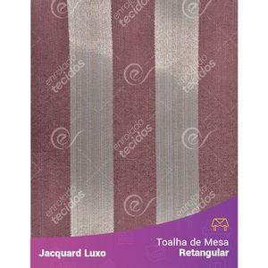 Toalha-de-Mesa-Retangular-em-Tecido-Jacquard-Vinho-Marsala-Listrado-Luxo