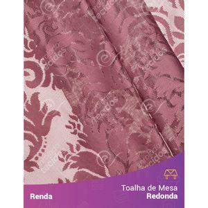 Toalha-de-Mesa-Redonda-em-Tecido-Renda-Medalhao-Marsala