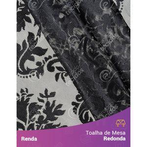 Toalha-de-Mesa-Redonda-em-Tecido-Renda-Medalhao-Preto