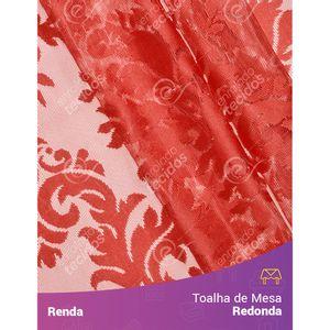 Toalha-de-Mesa-Redonda-em-Tecido-Renda-Medalhao-Vermelho