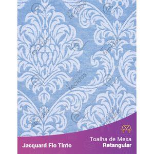 Toalha-Retangular-em-Tecido-Jacquard-Azul-Bebe-e-Branco-Medalhao-Fio-Tinto