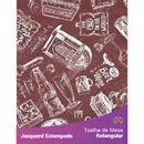 Toalha-de-Mesa-Retangular-em-Tecido-Jacquard-Estampado-Vintage-Vinho