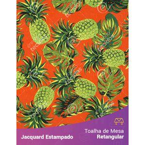 Toalha-de-Mesa-Retangular-em-Tecido-Jacquard-Estampado-Abacaxi-Vermelho