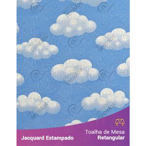 Toalha-de-Mesa-Retangular-em-Tecido-Jacquard-Estampado-Nuvem-Azul