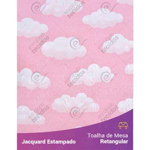Toalha-de-Mesa-Retangular-em-Tecido-Jacquard-Estampado-Nuvem-Rosa