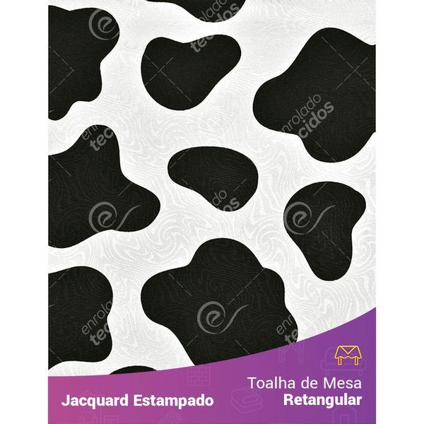 Toalha-de-Mesa-Retangular-em-Tecido-Jacquard-Estampado-Vaquinha