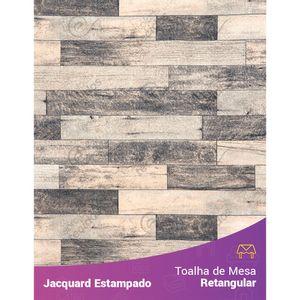 Toalha-de-Mesa-Retangular-em-Tecido-Jacquard-Estampado-Madeira-Cinza