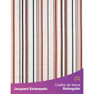 Toalha-de-Mesa-Retangular-em-Tecido-Jacquard-Estampado-Listrado-Rosa