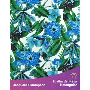 Toalha-de-Mesa-Retangular-em-Tecido-Jacquard-Estampado-Tucano-Azul
