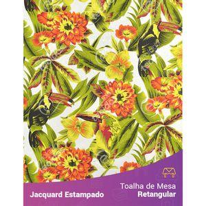 Toalha-de-Mesa-Retangular-em-Tecido-Jacquard-Estampado-Tucano-Amarelo