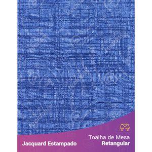 Toalha-de-Mesa-Retangular-em-Tecido-Jacquard-Estampado-Liso-Azul-Marinho