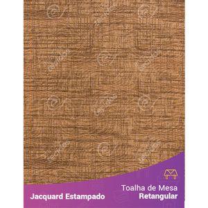 Toalha-de-Mesa-Retangular-em-Tecido-Jacquard-Estampado-Liso-Marrom