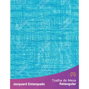 Toalha-de-Mesa-Retangular-em-Tecido-Jacquard-Estampado-Liso-Azul-Turquesa