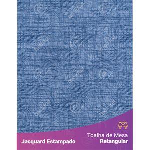 Toalha-de-Mesa-Retangular-em-Tecido-Jacquard-Estampado-Liso-Azul-Jeans