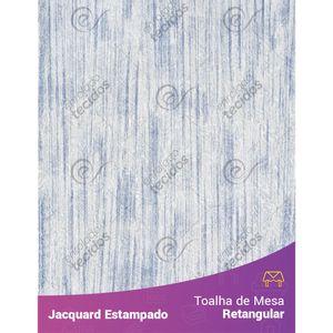 Toalha-de-Mesa-Retangular-em-Tecido-Jacquard-Estampado-Liso-Branco-e-Azul