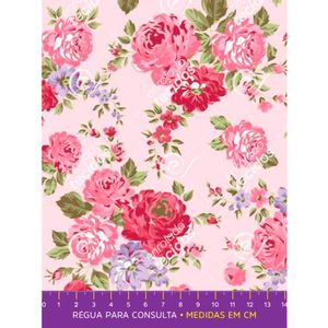 tecido-tricoline-floral-rosa-e-violeta