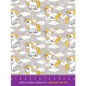tecido-tricoline-unicornio-amarelo