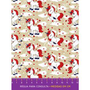 tecido-tricoline-unicornio-vermelho