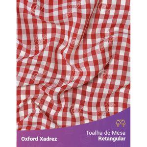 toalha-mesa-retangular-oxford-xadrez-vermelho