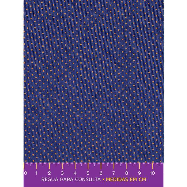 tecido-tricoline-estampado-poa-azul-marinho-e-dourado-principal