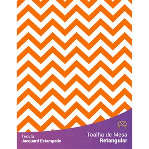 toalha-retangular-jacquard-estampado-chevron-laranja