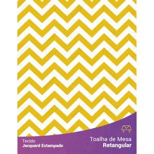 toalha-retangular-jacquard-estampado-chevron-amarelo