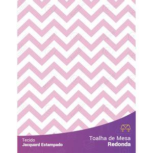 toalha-redonda-jacquard-estampado-chevron-rosa