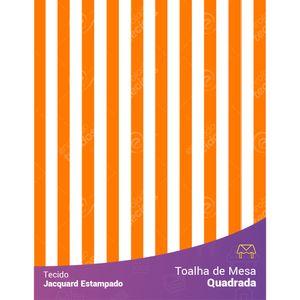 toalha-quadrada-jacquard-estampado-listrado-laranja